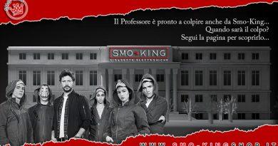 La Casa di Carta arriva da Smo-King