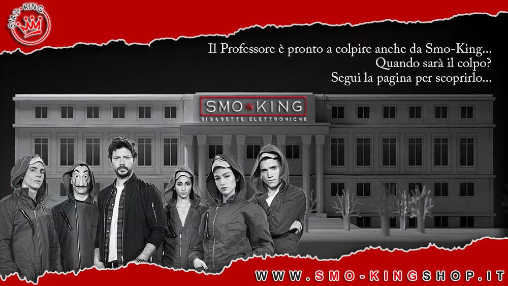 La casa di carta sta per colpire Smo-King