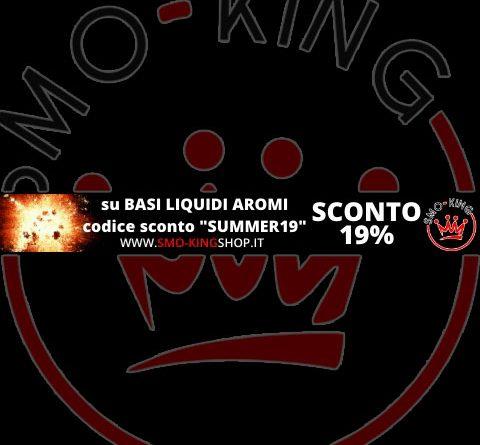 Codice Sconto Sigarette Elettroniche SUMMER 19